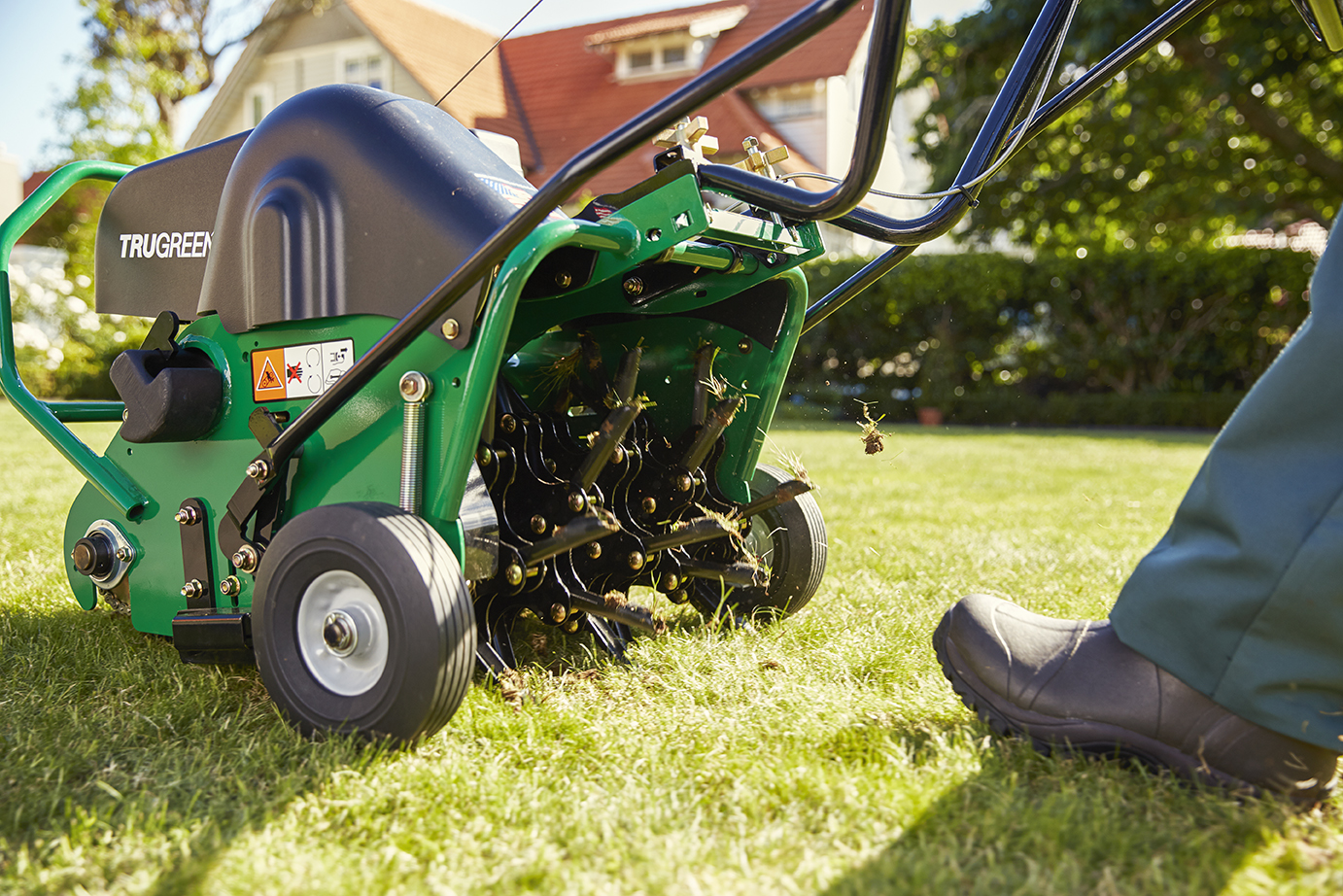 lawn aerator used in Slidell LA